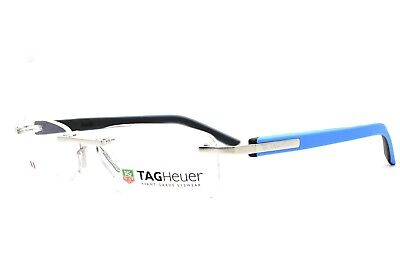 TAG HEUER Trends 8108 009 Rimless New Authentic Eyeglasses 54-17-140