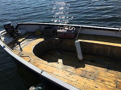 26' Whaleboat Personel Carrer, 25 H.P. Mercury Outboard.  Woodlined, Workboat