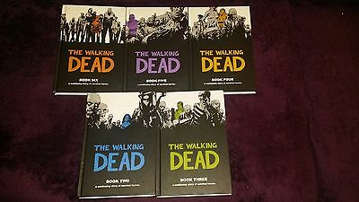The Walking Dead Hardcover Books 2, 3, 4, 5, 6 Comic Lot