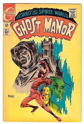 Ghost Manor #6 VG (4.0) Charlton Comic 1969