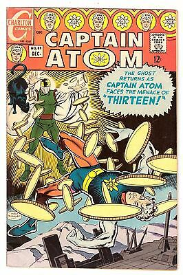 Captain Atom #89 VG (4.0) Charlton Comic 1967