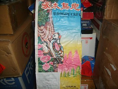 Firecracker Fireworks Brick Label Woodpecker