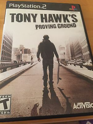 Sony PlayStation 2 PS2 Tony Hawk's Proving Ground Video Game Complete