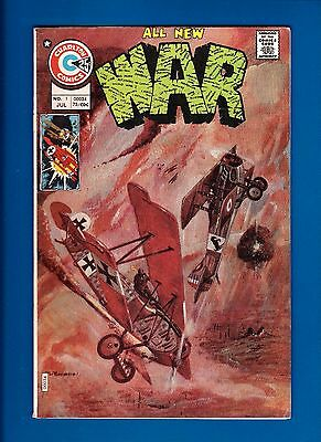 War #1 (July 1975) Fn Charlton