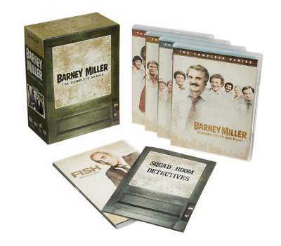 Barney Miller The Complete Series (25-Disc DVD Set) NEW