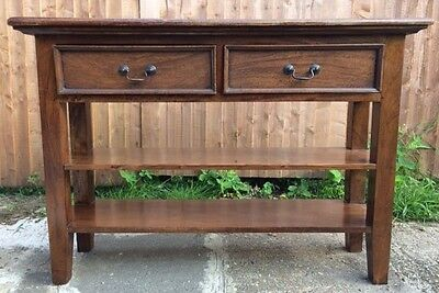 Mahogany Victorian antique style console table