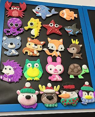 Kids Craft. Foam Clay Magnetic Kit