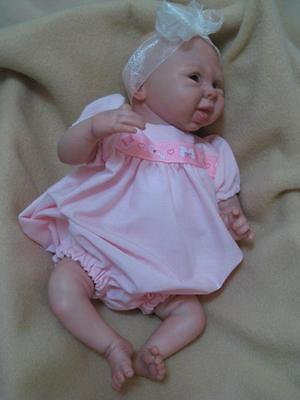 10-12 inch ROMPER Reborn Doll - Hand Made clothing