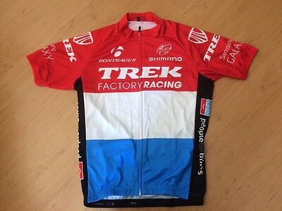 cycling jersey trek factory team size large uci