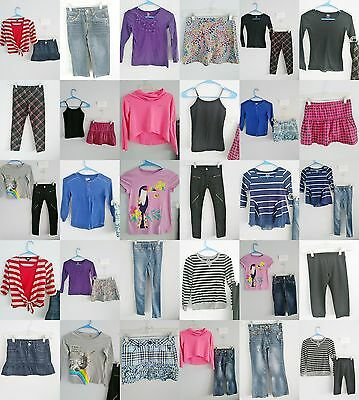 Girls Size 7 & 7/8 Clothes, Justice Tops, Jeans, Skirts, Clothing, Outfits Lot
