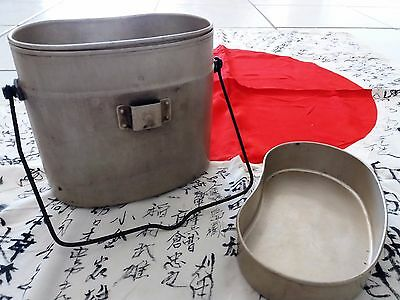 ww2 Japanese Army Soldiers / Navy Marine Mess Kit 1939/45