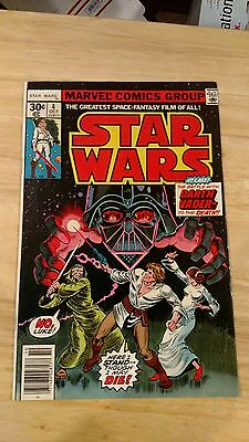 Star Wars Comics #4 VF/NM 1st Print 1977 Battle with Darth Vader to the Death