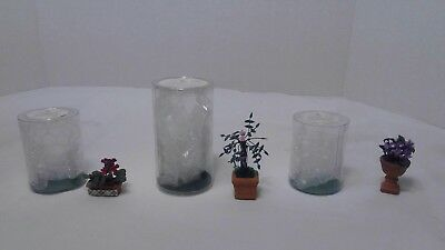 Dept 56 Seasons Bay 2- Flowers #53331 1- Tree #53332