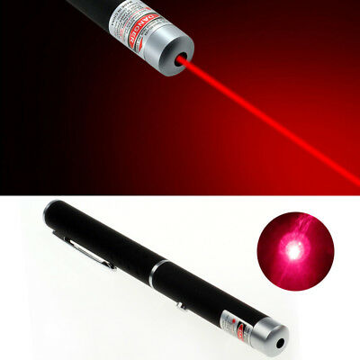 Red 5MW Laser Pointer Pen Visible Light Beam Ray Laser Presentation PPT Meeting