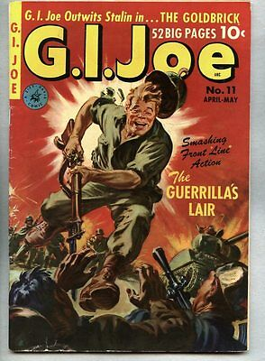 G.I. Joe #11-1951 fn 2nd issue / Ziff Davis Norman Saunders GI Joe