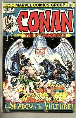Conan The Barbarian #22-1973 vg/fn Barry Windsor-Smith