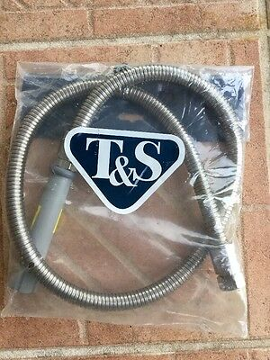 "T & S 44"" Stainless Steel Flex Hose"