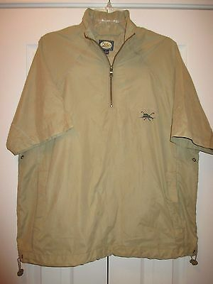 Tommy Bahama Short Sleeve Wind Shirt~Mercedes Benz Logo~XS(but see measurements)