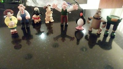 1989 Collectible Figures Wallace and gromitFigures