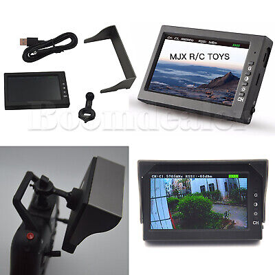 5.8G D43 RX FPV Receiver Monitor Screen for MJX C5820(Bugs 3) & C5830(Bugs 6)