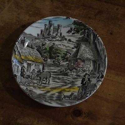 """Wedgwood """"Old English Village"""" Butter Plate"""