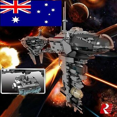 Star Wars Armada Nebulon B Frigate +free minifigures 1736 pieces Lego Compatible
