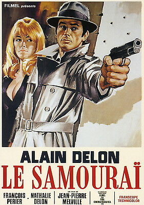 Le Samourai Movie Poster Style HB 13x19