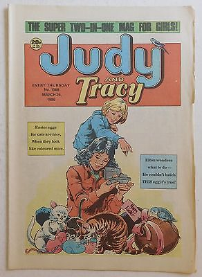 JUDY & TRACY Comic #1368 - 29th March 1986