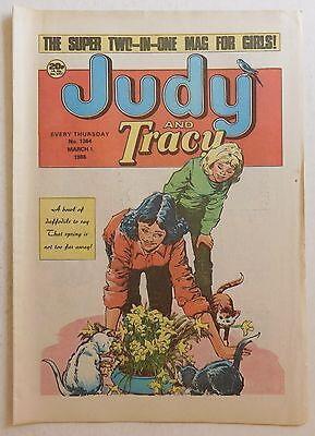 JUDY & TRACY Comic #1364 - 1st March 1986