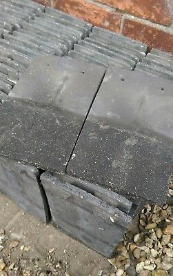 Marley (Approx 2000) Reclaimed Concrete Plain Roof Tiles - Grey