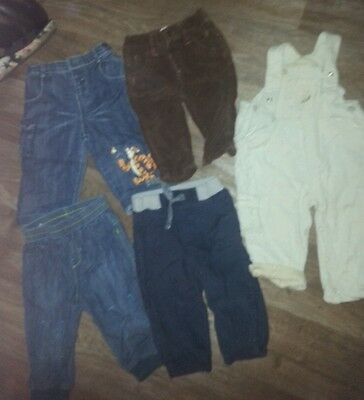 Boys trouser bundle 6/9 months