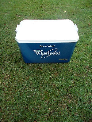 Collectable Vintage Promo  Blue Guess Who? Whirlpool Nylex Esky Cooler 35 Litre