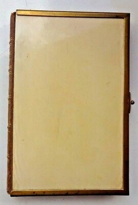 Antique Pocket Size Wesley s Hymns Circa 1860 Bovine Bone Cover Methodists