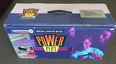 Commodore 64 Power Play bundle complete boxed C64 1541  Action Replay 6