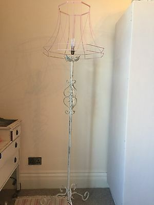 Vintage Shabby Chic Standard Lamp