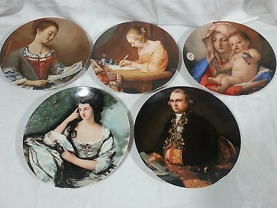 Lot Of 4 The Masterpiece Series 1982, 82, 83, & 84 Collector Plate's