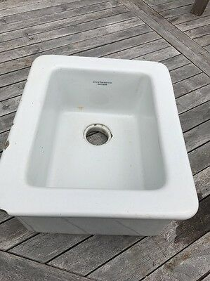 Old School Science Lab Laboratory White China Sink