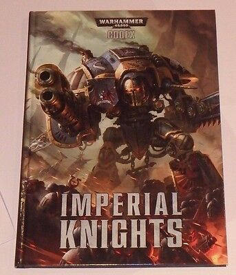 Warhammer 40k Codex Imperial Knights
