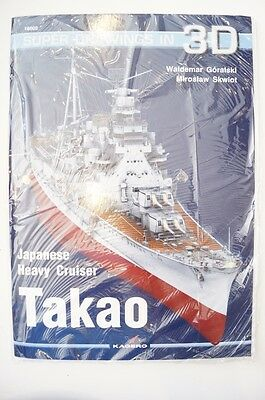 WW2 Japanese Heavy Cruiser Takao Kagero Reference Book