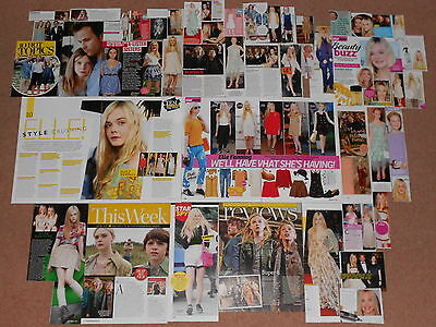 45+ ELLE FANNING Magazine Clippings