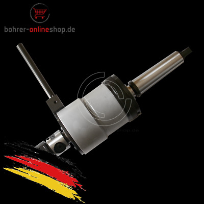 Made in Germany Efem Morse 2 tapping head with morse 3 taper adaptor