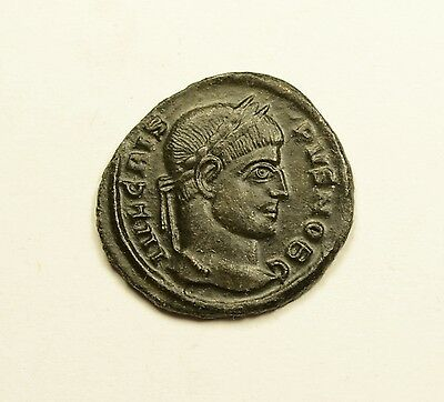HIGH QUALITY - Crispus Constantine the Great son 321AD Ancient Roman Coin Sucess
