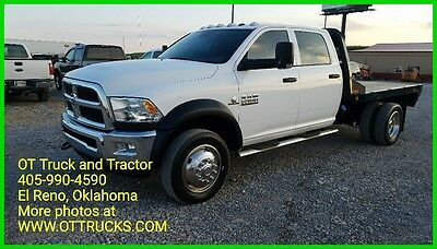 2015 Ram Other Tradesman 2015 Dodge RAM 5500 HD 4wd Crew Cab 9ft Flatbed 6.7L Cummins Diesel