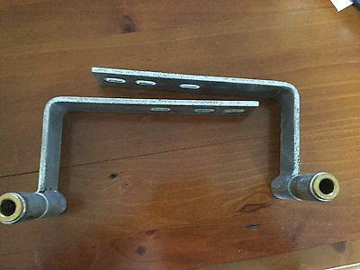 New holland tm beacon brackets pair left right