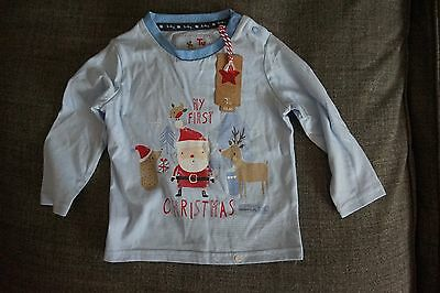 Boys 6-9 Month Christmas T Shirt Brand New With Tags