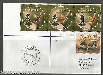 Namibia Cover - Koes 30.03.2011 - Fifa Word Cup Marken + Year of the Ox