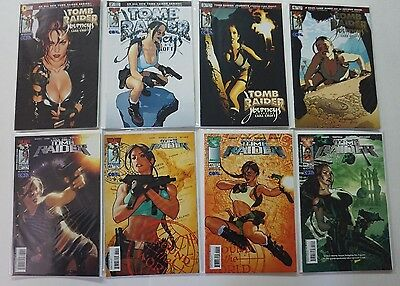Tomb Raider Adam Hughes Comic LOT 1 2 3 4 32 41 42 44 48 49 50 AH! HOT!