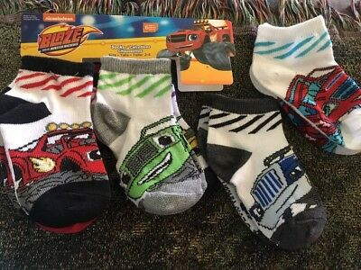 blaze and the monster machines Toddler Socks