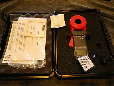 NEW AEMC 3731 Clamp-On Ground Resistance Tester    NEW IN BOX!!!