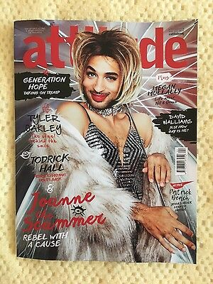 Attitude Magazine Brand New. May 2017 Generation Hope Over 140 Pages News Review